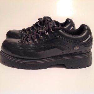 Sketchers Men's Black Loafers Size 9.5 EUC
